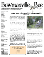 Spring 2012 Bowmanville Bee