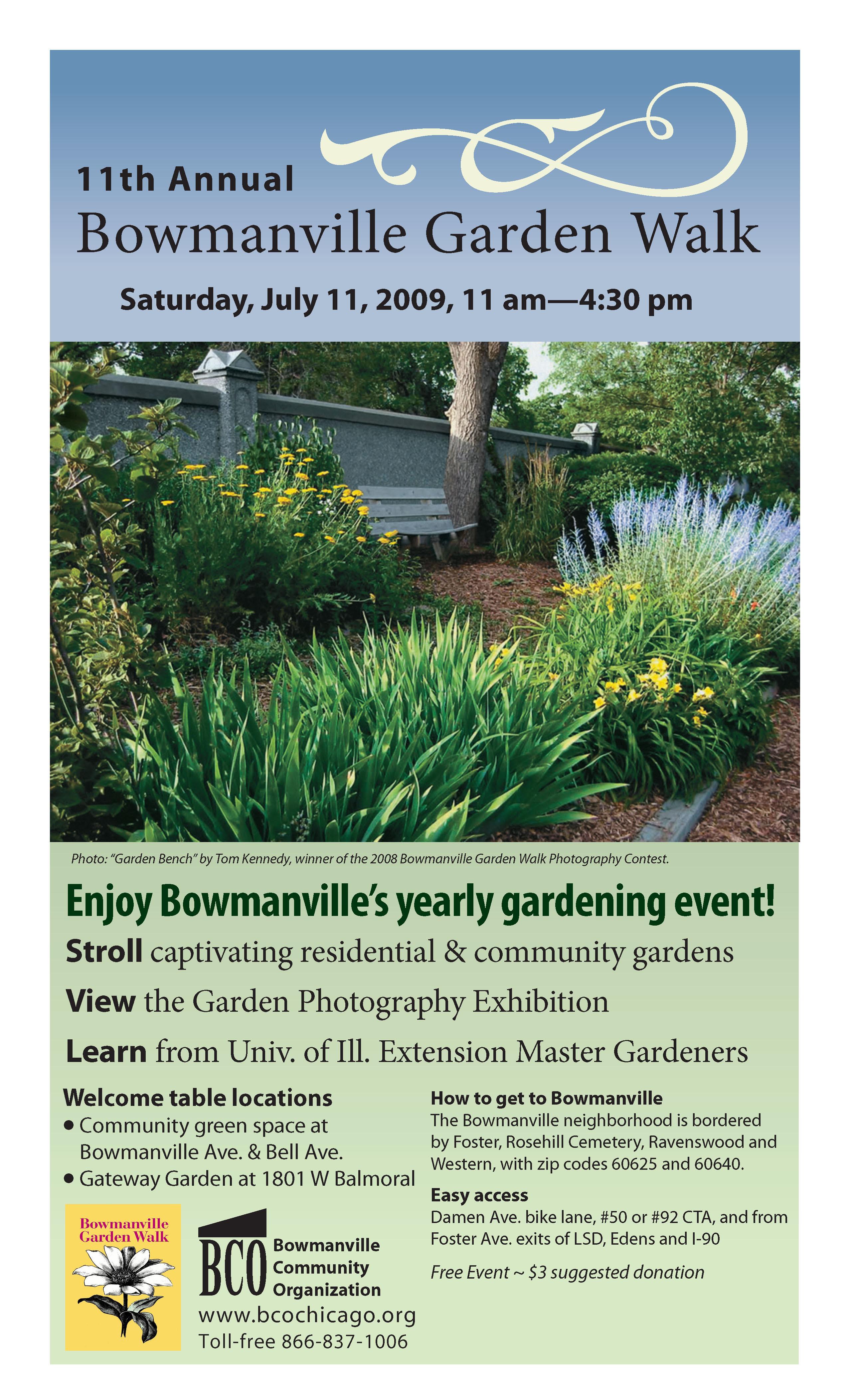 Bowmanville Community Organization 09 bco garden walk