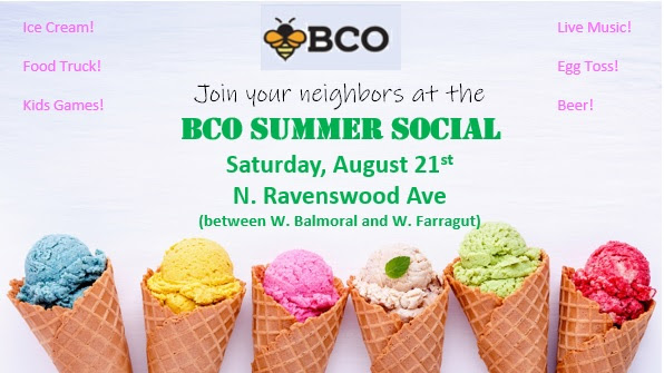 BCO Summer Social – Saturday August 21st